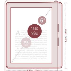 Kindle Oasis vs. Kindle Voyage - dimensions