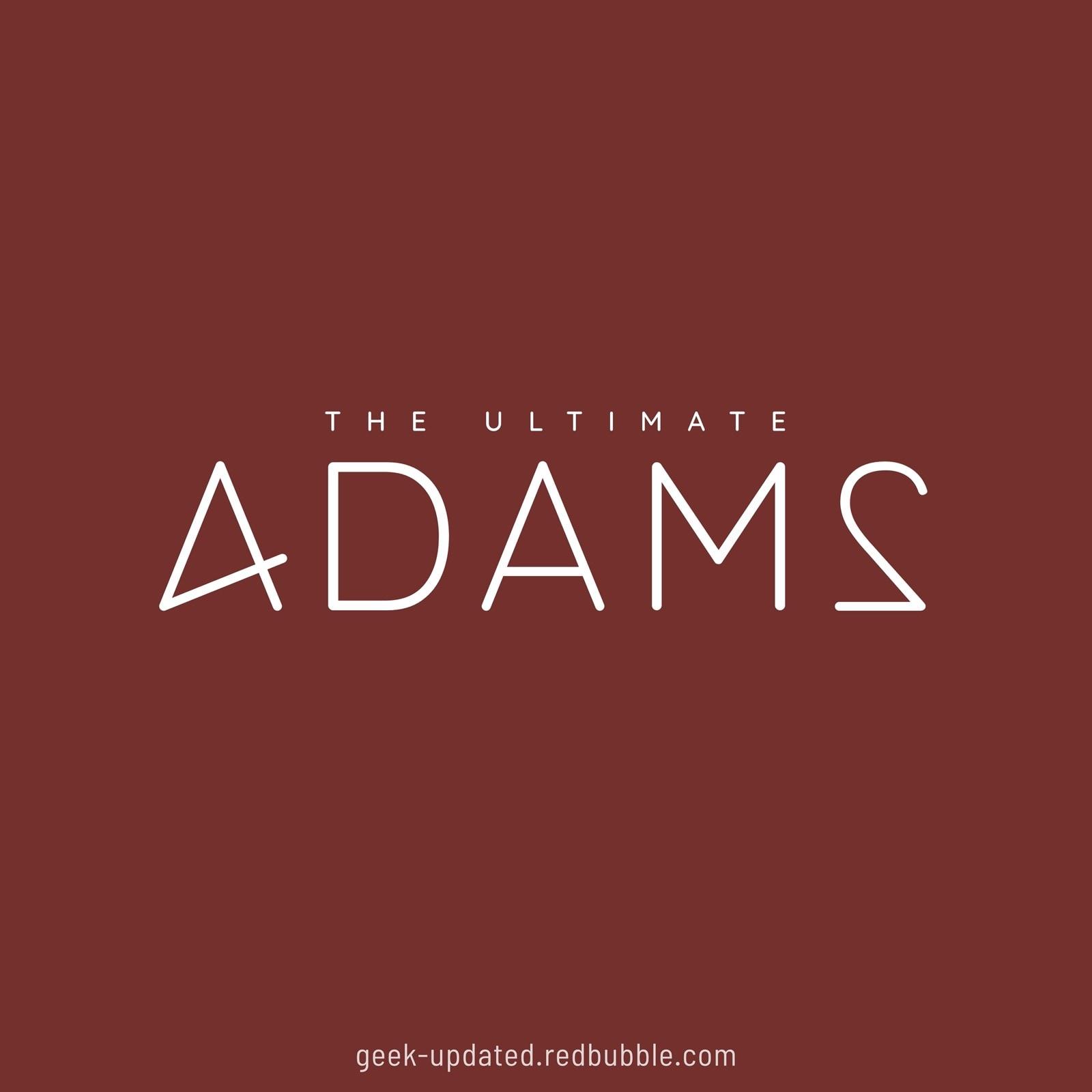 4DAM2 - the ultimate Douglas Adams 42 - design by Piotr Kowalczyk