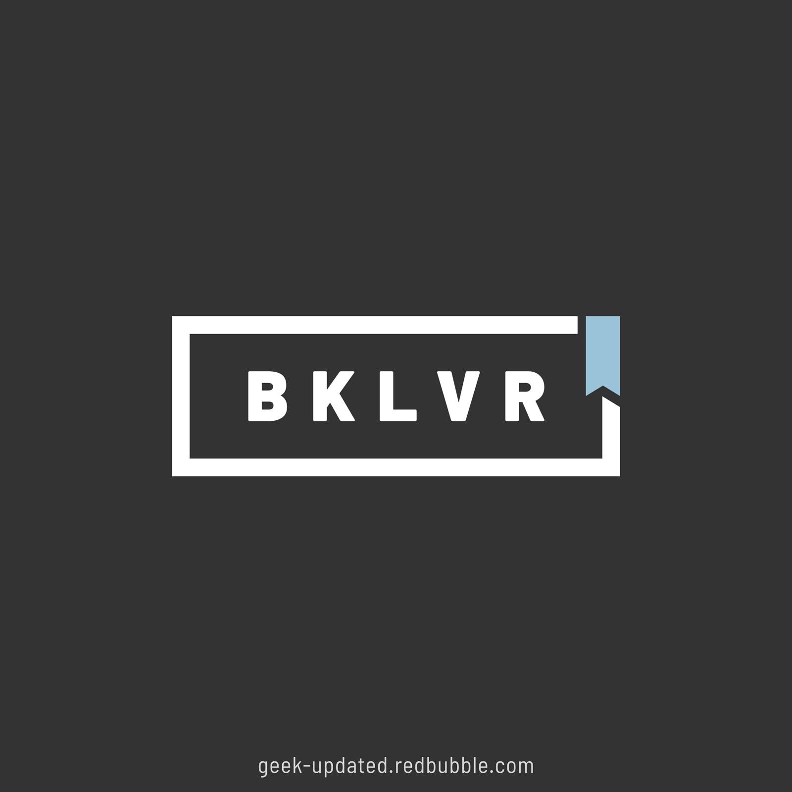BKLVR - booklover - design by Piotr Kowalczyk