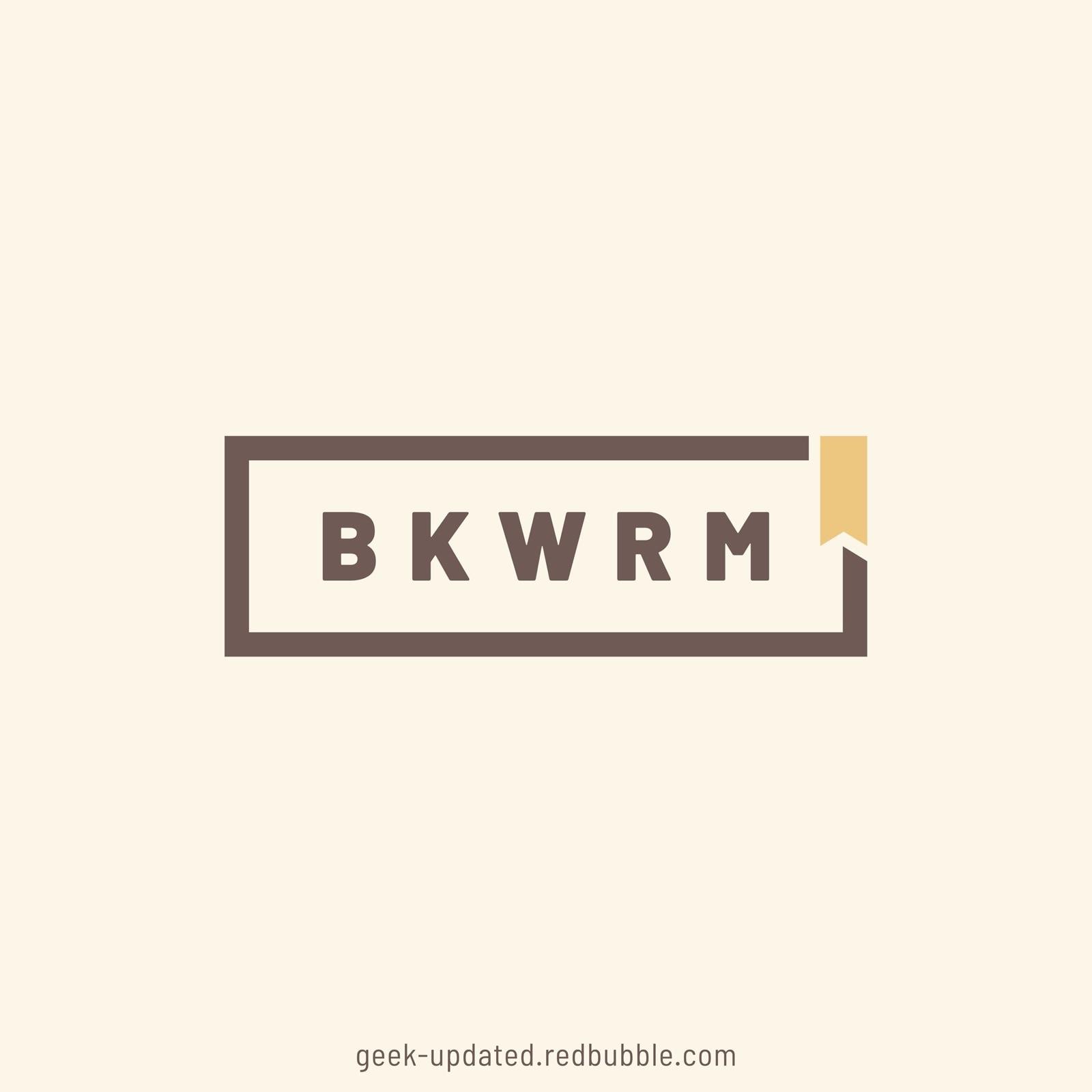 BKWRM - bookworm - design by Piotr Kowalczyk