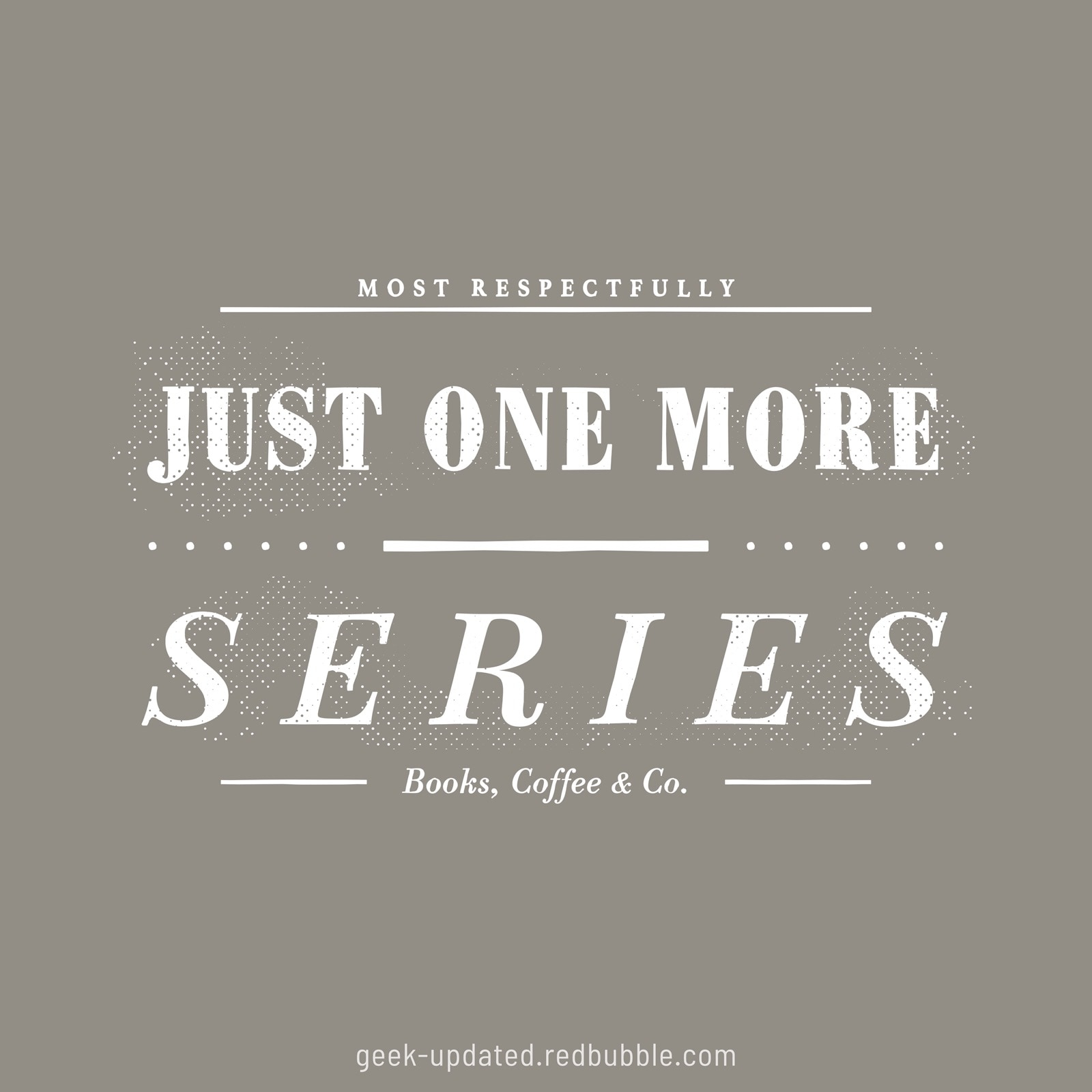 Just one more series - design by Piotr Kowalczyk