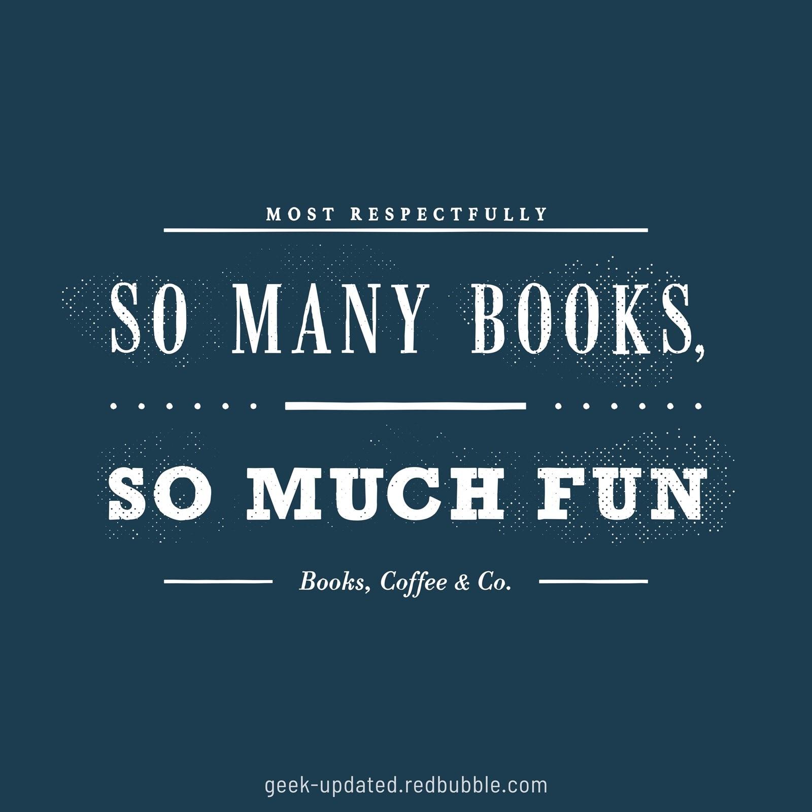 So many books so much fun - design by Piotr Kowalczyk
