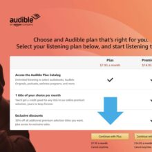 Want to try Audible Plus? You can subscribe directly on Amazon
