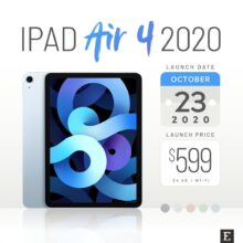Apple iPad Air 4 facts questions