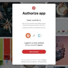 Zapier: it's time to reconnect your Pinterest account