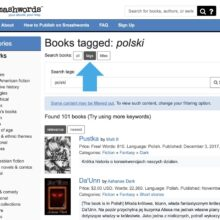 Find foreign books on Smashwords - select tag search