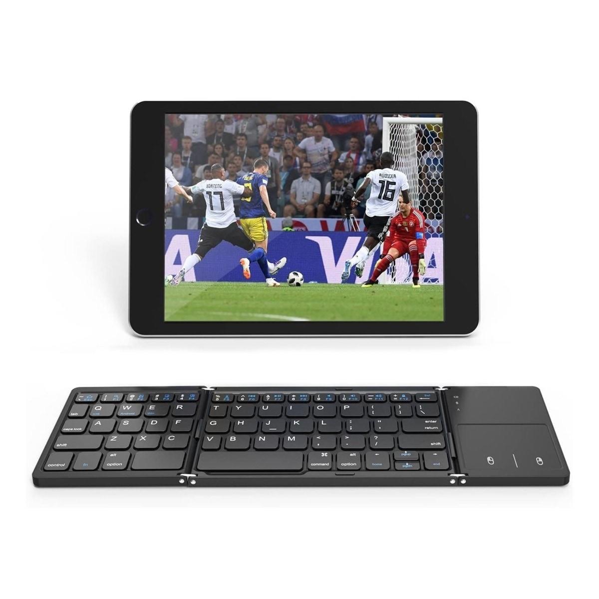 Amazon Fire HD 10 foldable keyboard touchpad