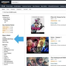 How many Prime Video titles are free for Amazon Prime subscribers
