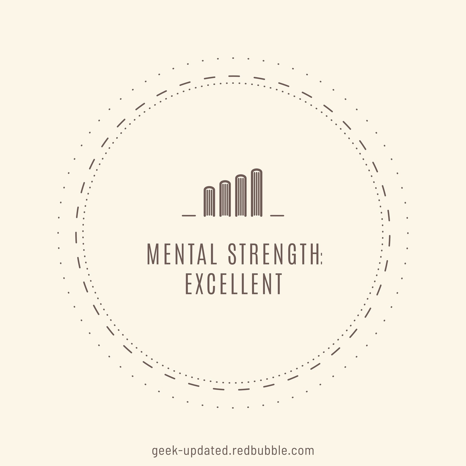Mental health excellent thanks to books - designed by Piotr Kowalczyk