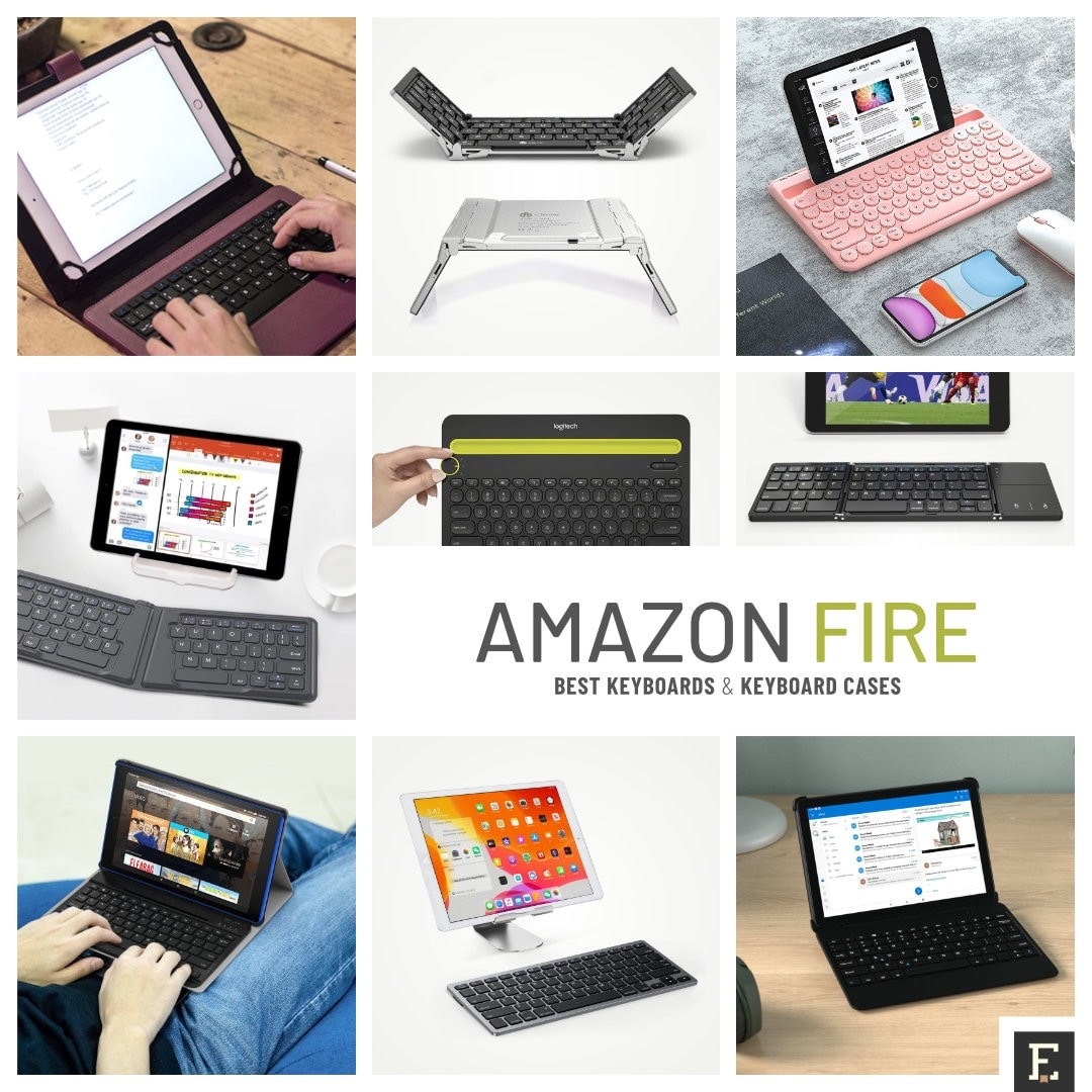 Ultimate list Amazon Fire compatible keyboards and keyboard cases