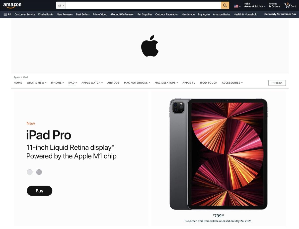 iPad Pro 2021 on Amazon safe purchase
