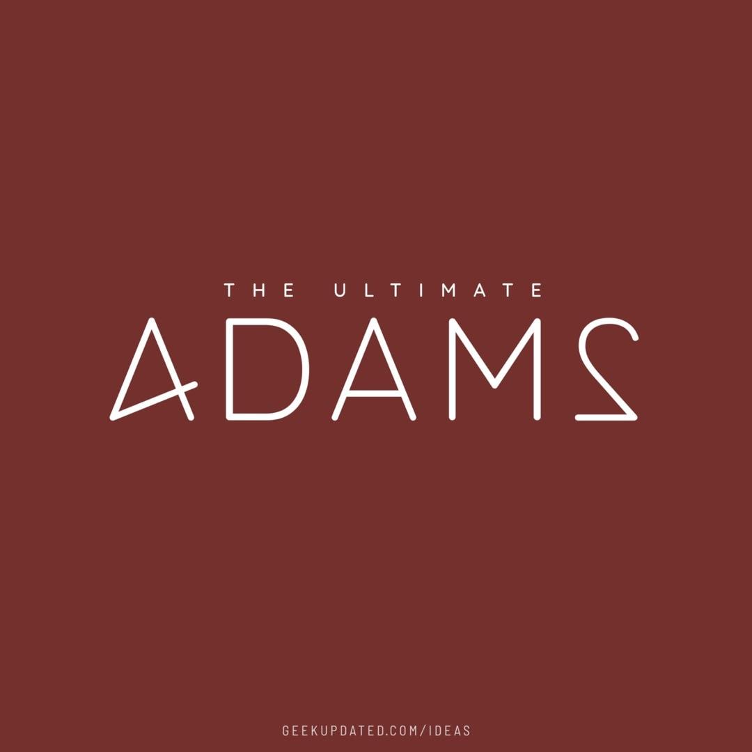 4ADAM2 - Douglas Adams 42 answer - design by Piotr Kowalczyk Geek Updated