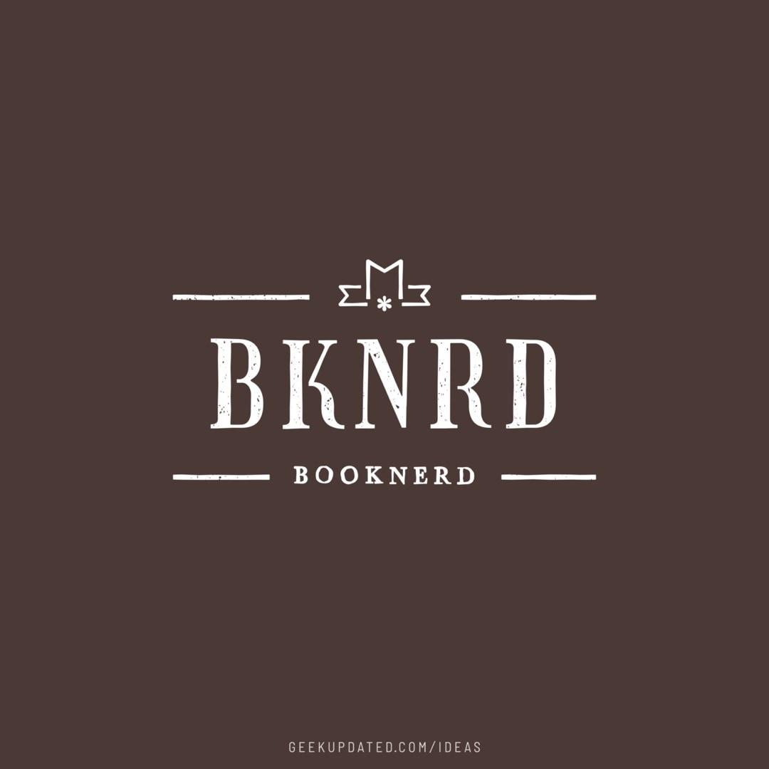 BKNRD - booknerd abridged - design by Piotr Kowalczyk Geek Updated