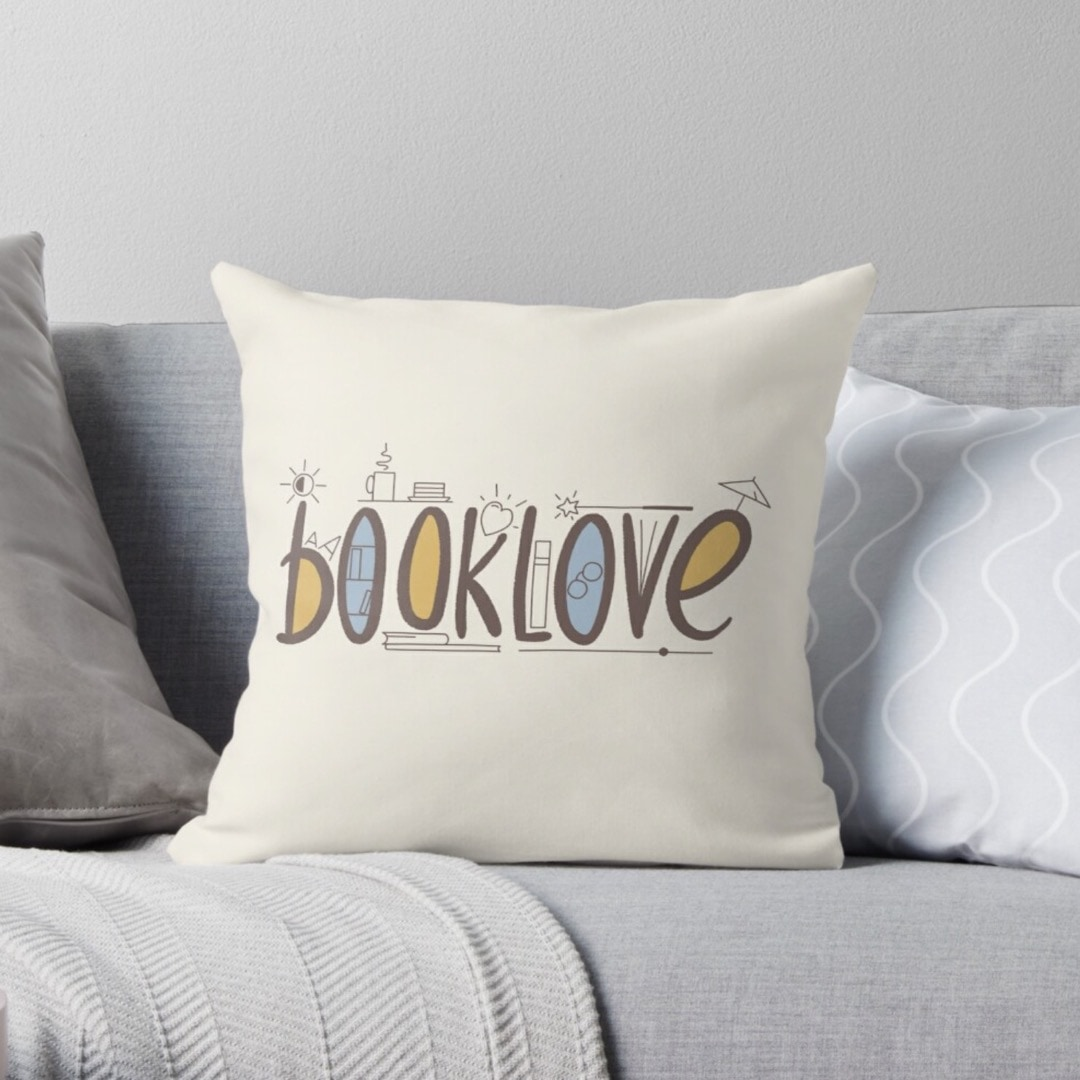 Booklove - exciting life of a book lover - design by Piotr Kowalczyk