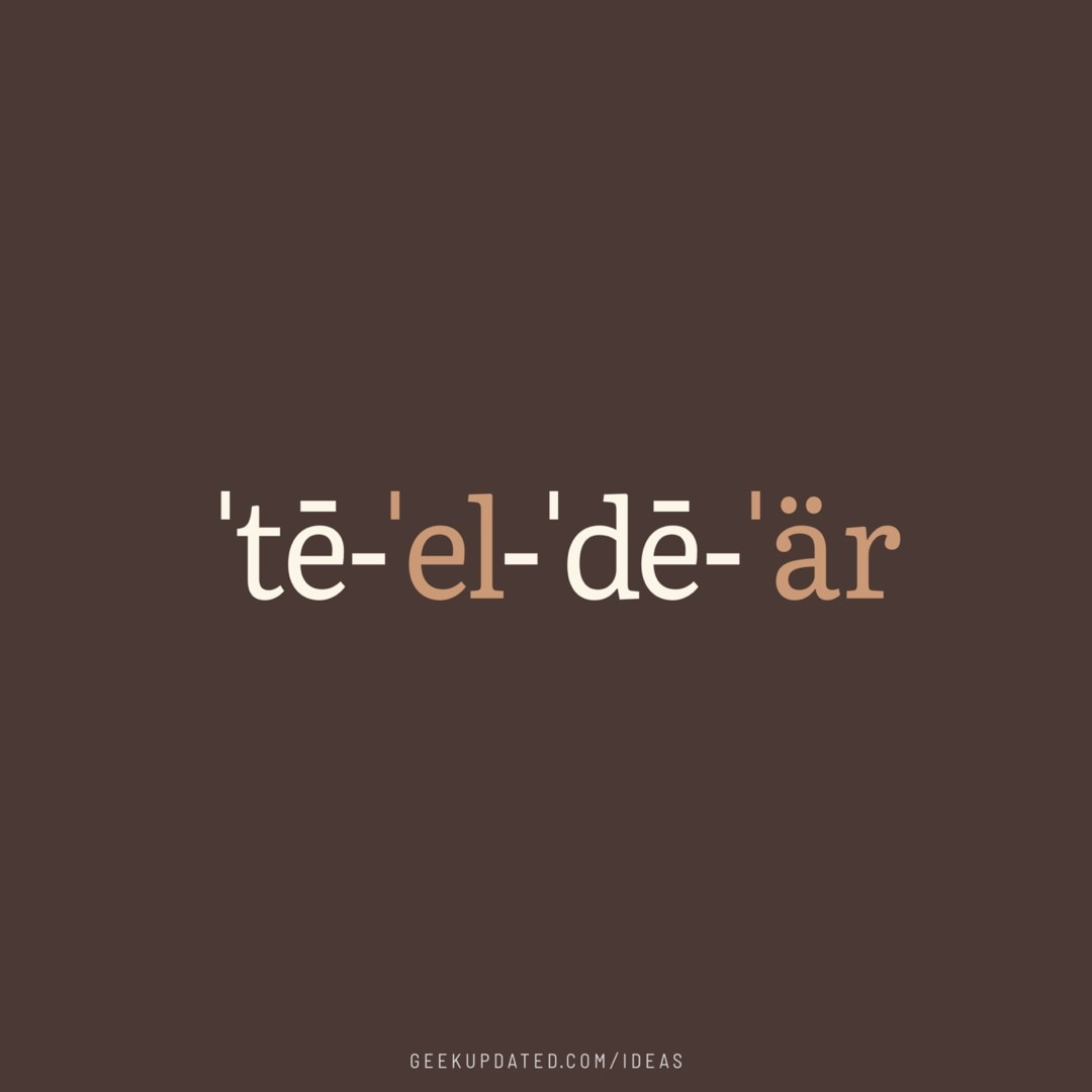 TLDR phonetic notation - design by Piotr Kowalczyk Geek Updated