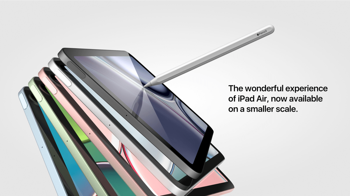 Apple iPad mini 6 concept render by Michael Ma Behance