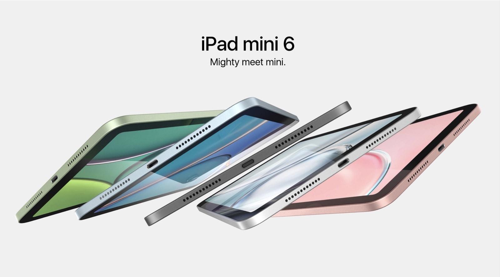 Apple iPad mini 6 renders Behance