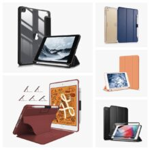 Top 5 affordable Apple iPad mini 5 cases with pen holder