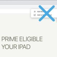 Google Chrome get rid of Reading List option