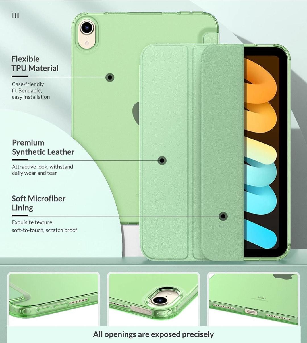 MoKo iPad mini 6 2021 tri-fold cover