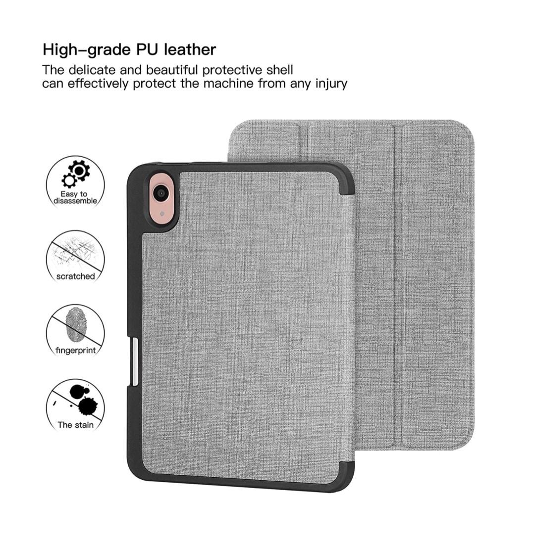 Natural tri-fold iPad mini 2021 6th-generation cover