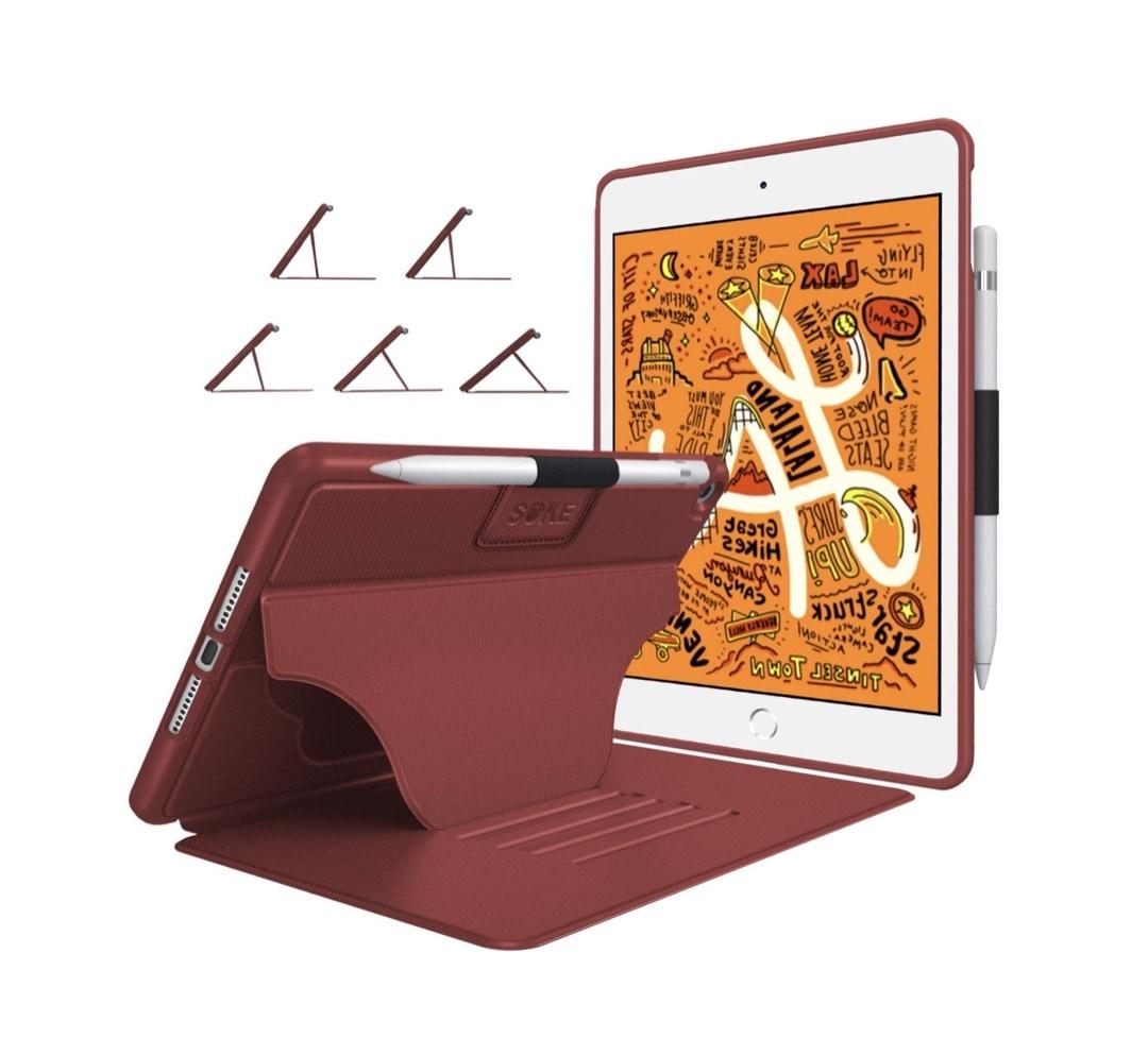 Soke iPad mini 5 shockproof case with pen loop