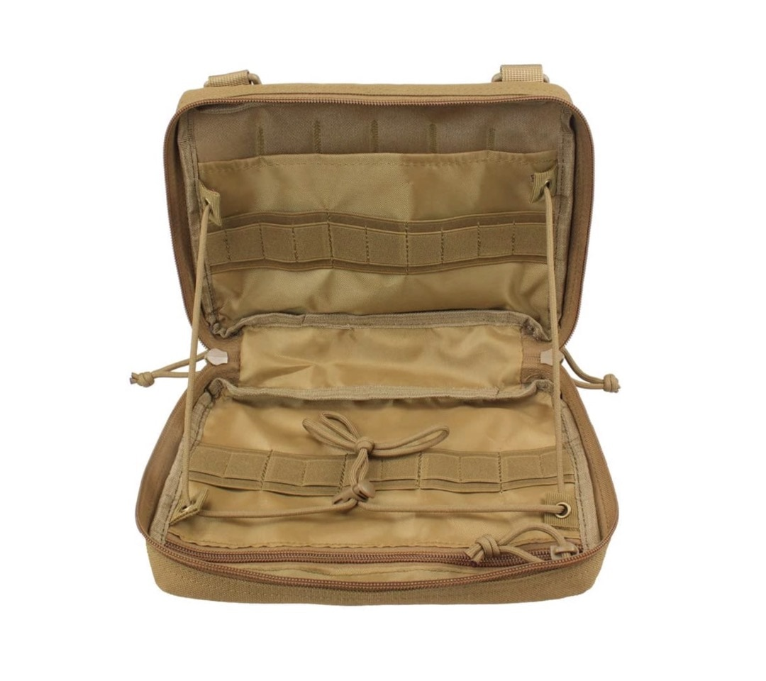 Tactical molle pouch travel organizer - best iPad accessories for camping