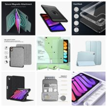 Here are 10 most interesting iPad mini 6 covers available so far