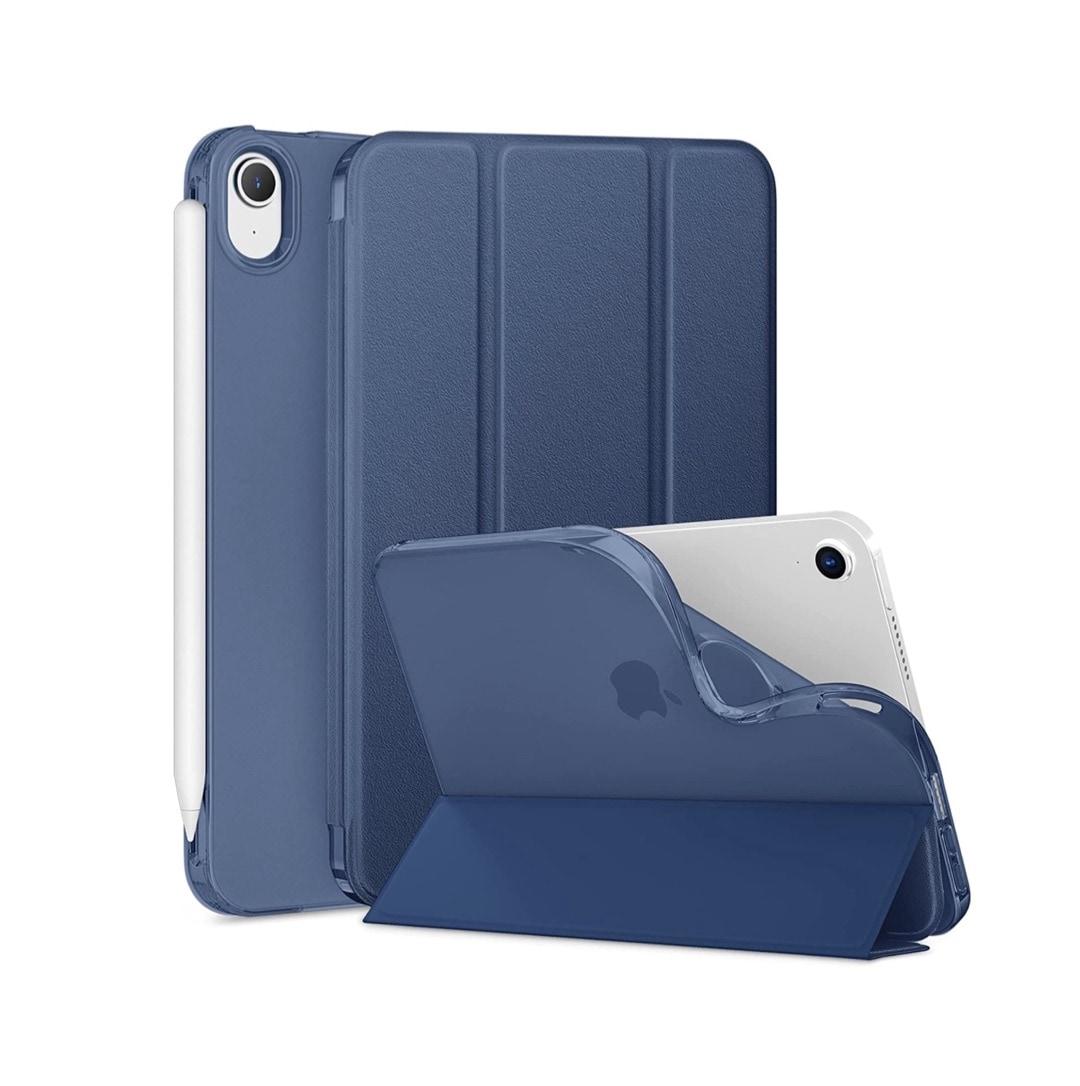 Tri-fold iPad mini 6 case with anti-fingerprint textured front
