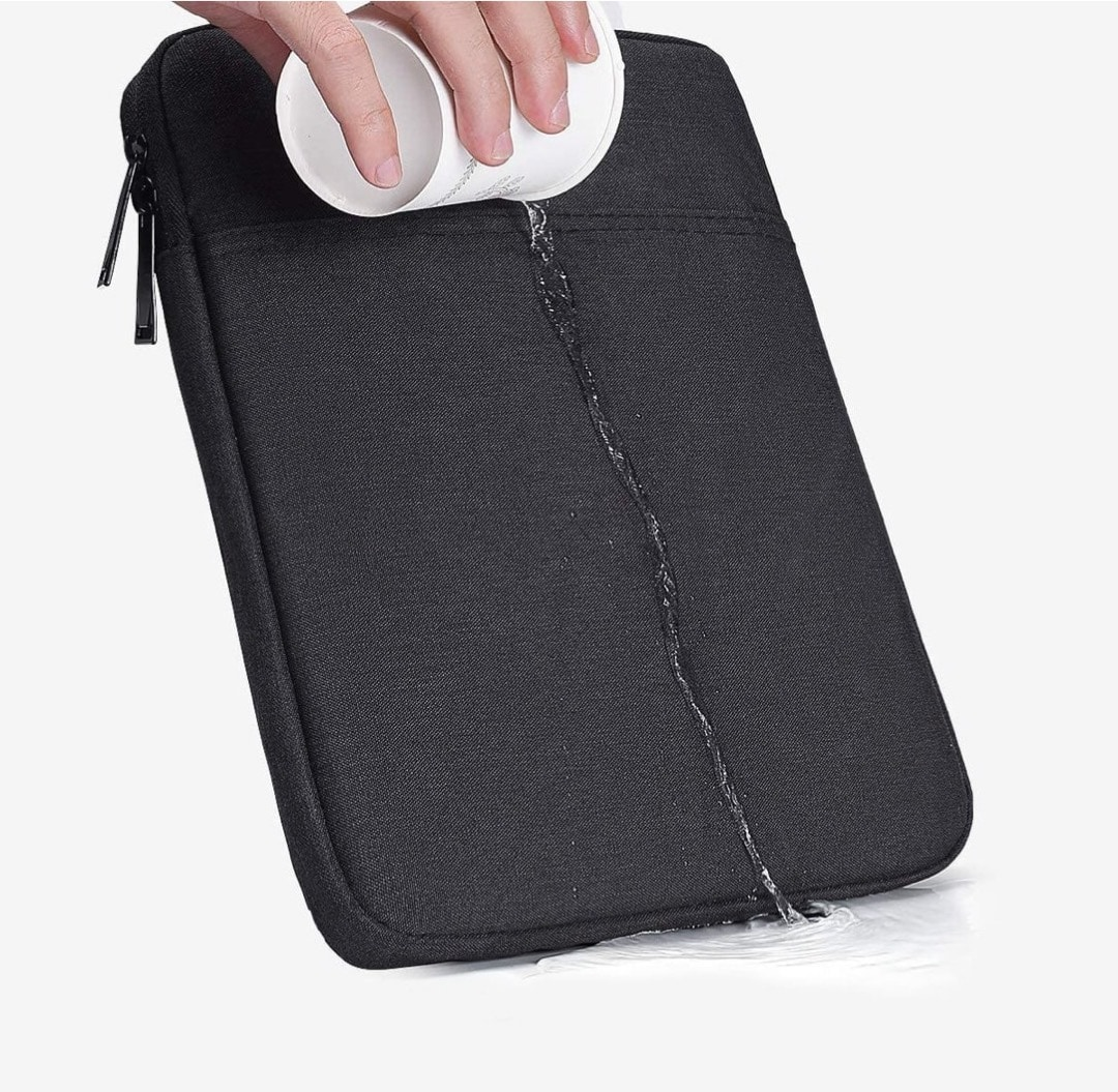 Waterproof tablet sleeve - best camping accessories for iPad iPhone