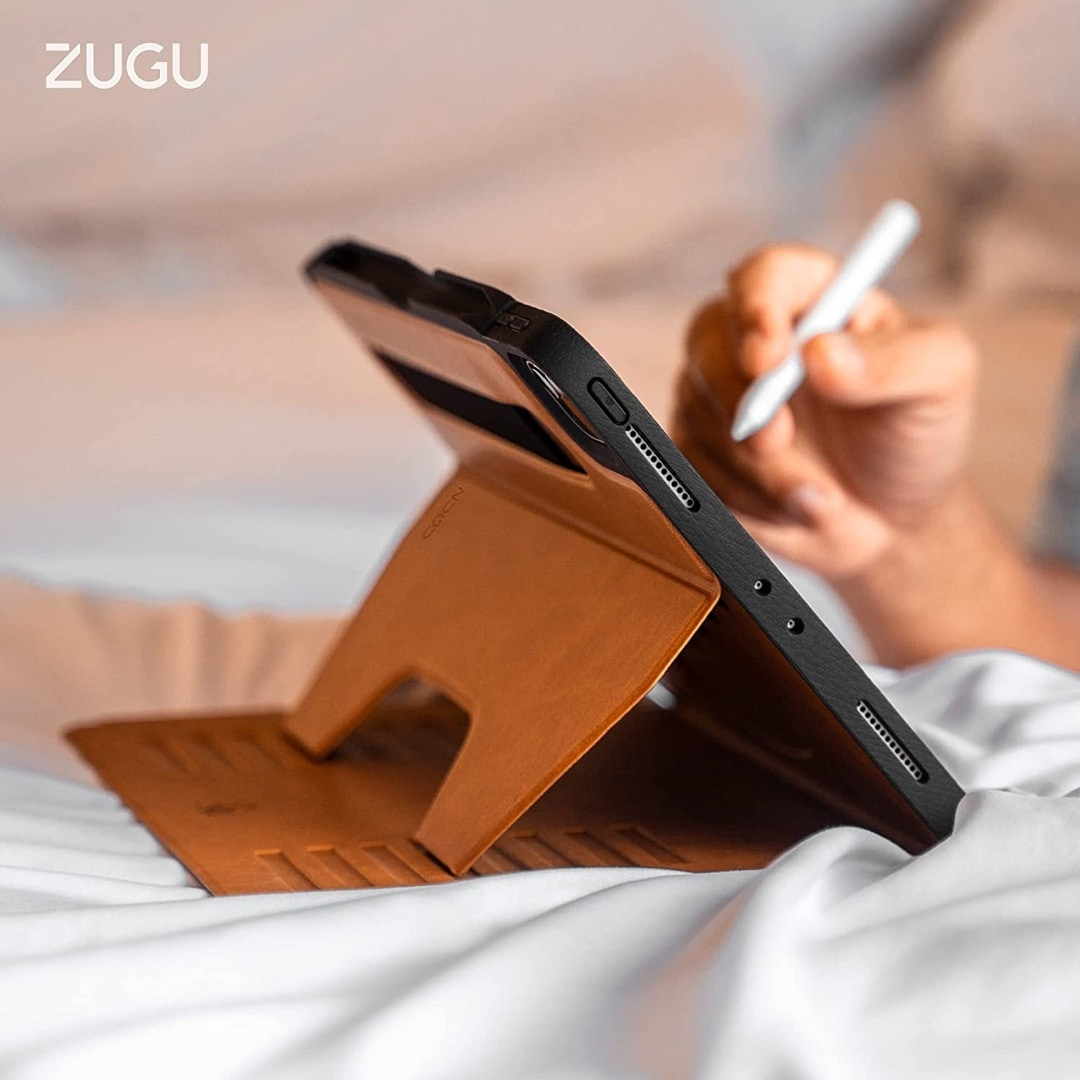 Zugu heavy-duty iPad case - great for camping and outdoor activities